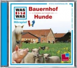 Falk, Matthias Was ist Was. Bauernhof Hunde. CD