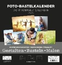 Foto-Bastelkalender schwarz FAMILY 2020