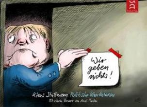 Stuttmann, Klaus Wir geben nichts!