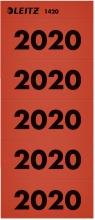 , Rugetiket Leitz 2020 rood