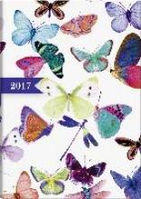 Buchkalender Summertime 2017. 2 Seiten = 1 Woche, 148 x 205 mm