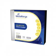 , DVD+RW MediaRange 4.7GB|4x speed, Slimcase Pack a 5 stuks
