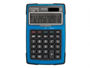 , Calculator Citizen outdoor desktop Business Line, blauw