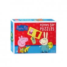 , Peppa Pig Puzzel Peppa`s Dag