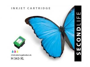 , *Cartridge SecondLife HP 343 XL kleur