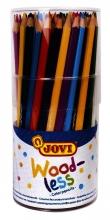 , Kleurpotlood Jovi triangle houtvrij set à 84 kleuren ass
