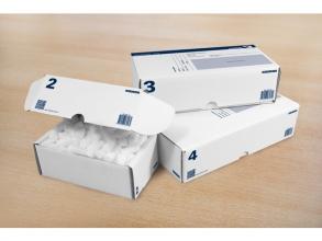Rd-351119-5 , Raadhuis postpakketdoos nr 2 200x140x80 mm per stuk
