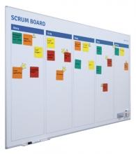 , Scrum bord + starterkit scrum 90x120cm