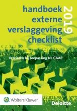 , Handboek externe verslaggeving checklist 2019