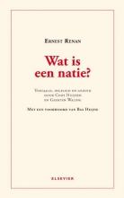 Ernest Renan , Wat is een natie