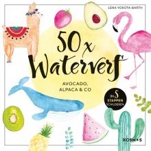 Lena Yokota-Barth 50x waterverf