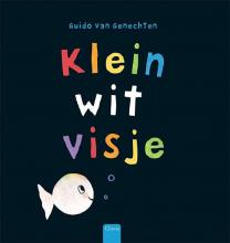 Guido Van Genechten Klein wit visje (groot formaat)