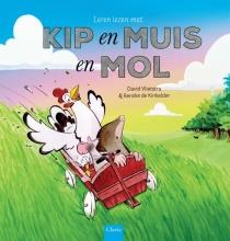 David Vlietstra , Leren lezen met Kip en Muis en Mol