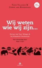 Toon  Tellegen Wij weten wie we zijn, boek met 4 cd`s  Op toer met Toon Tellegen en Corrie van Binsbergen