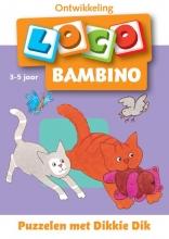 , Loco bambino, puzzelen met Dikkie Dik 3-5 jaar