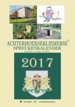 Arie Ribbers , Achterhoekse & Liemerse spreukenkalender 2017