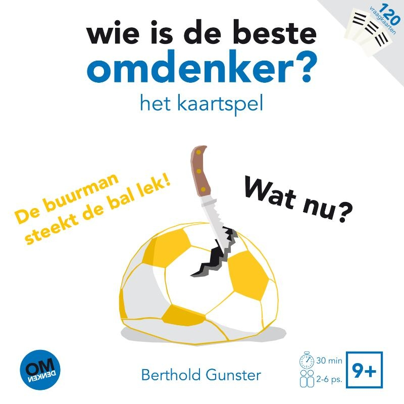 Berthold Gunster,Wie is de beste omdenker?