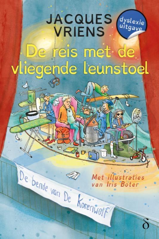 Jacques Vriens,De reis met de vliegende leunstoel