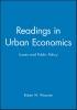 Wassmer, Robert W.,Readings in Urban Economics