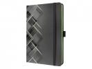 ,<b>notitieboek Sigel Conceptum Look Drive hardcover A5 Neon    Green</b>