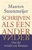 <b>Maarten  Steenmeijer</b>,Schrijven als een ander