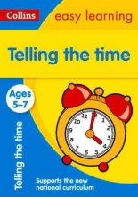 Collins Easy Learning,   Ian Jacques,   Melissa Blackwood Telling the Time Ages 5-7: New Edition