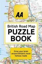 Helen Brocklehurst The AA British Road Map Puzzle Book