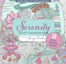 Serenity Adult Coloring Book