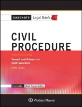 Casenote Legal Briefs Casenote Legal Briefs for Civil Procedure, Keyed to Yeazell