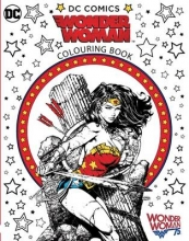 Warner Bros Wonder Woman Colouring Book