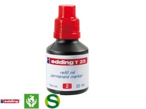 , Viltstiftinkt edding T25 rood