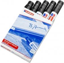 , Viltstift edding 850 blokpunt zwart 5-16mm