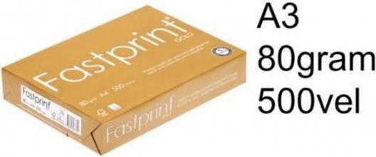 , Kopieerpapier Fastprint Gold A3 80gr wit 500vel