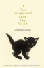 Kawamura Genki, If Cats Disappeared from the World