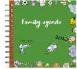 ,<b>Familie agenda 2020 165x165 mm spiraal vis</b>