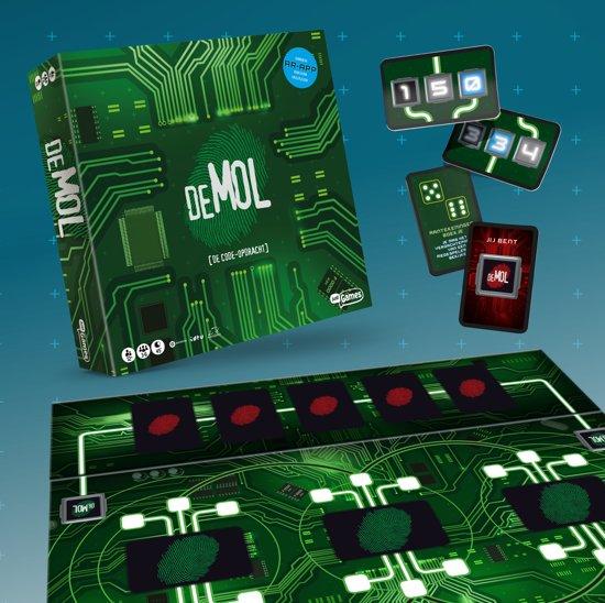 ,De Mol - De code-opdracht (het bordspel)