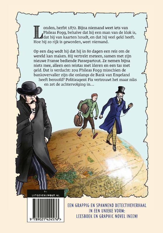 Tiny Fisscher, Jules Verne,Reis om de wereld in 80 dagen