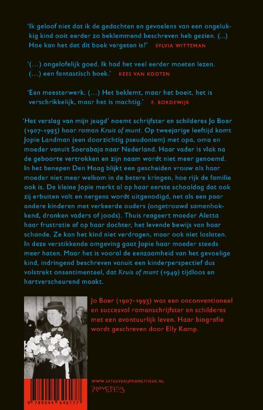 Jo Boer,Kruis of munt