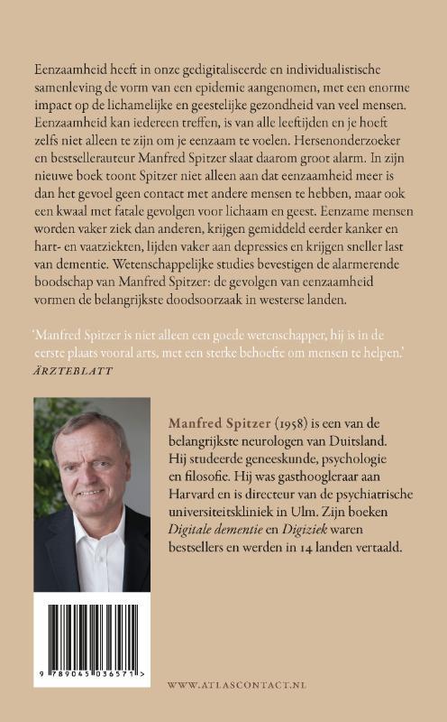 Manfred Spitzer,Eenzaamheid