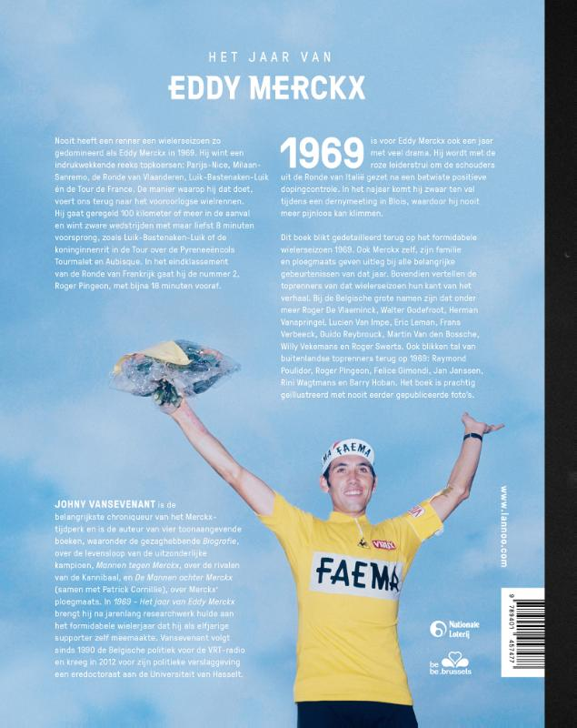 Johny Vansevenant,Het jaar van Eddy Merckx 69