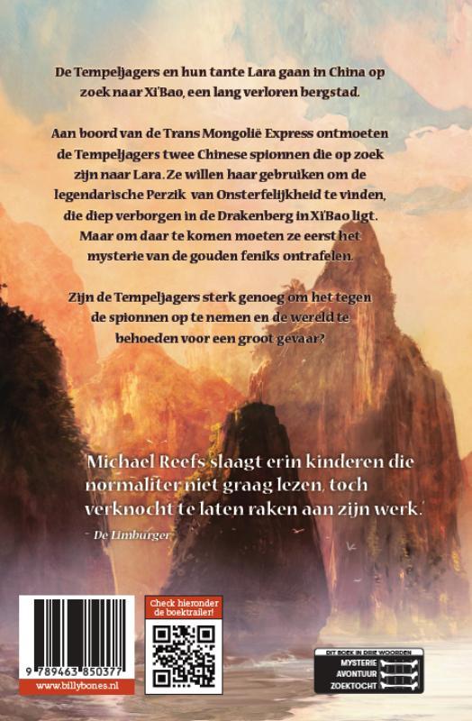 Michael Reefs,Het mysterie van de Gouden Feniks