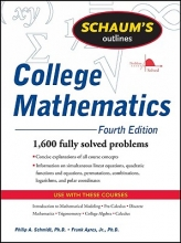 Ayres, Frank, Jr., Ph.D.,   Schmidt, Philip A. Schaum`s Outline College Mathematics