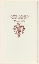 J. A. Burrow,   J. A. (Emeritus Professor and Senior Research Fellow, University of Bristol) Burrow Thomas Hoccleve`s `Complaint` and `Dialogue`