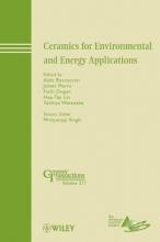 Boccaccini, Aldo R. Ceramics for Environmental and Energy Applications