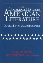 The Cambridge History of American Literature, Volume 3