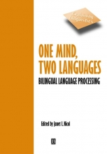 Janet Nicol One Mind, Two Languages
