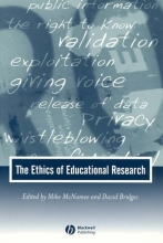 McNamee, Michael The Ethics of Educational Research