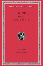Sidonius,   W.B. Anderson Poems and Letters