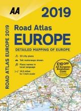 AA Road Atlas Europe 2019
