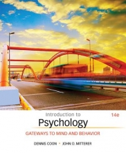 Dennis Coon Introduction to Psychology